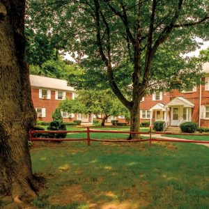 South Orange Court Apartments For Rent in Orange, NJ Courtyard
