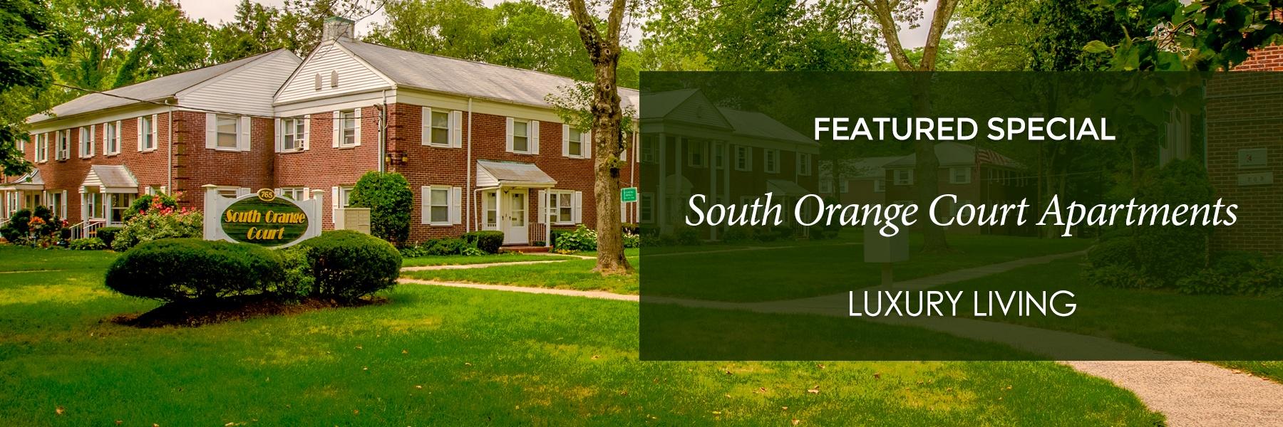 South Orange Court Apartments For Rent in Orange, NJ Specials